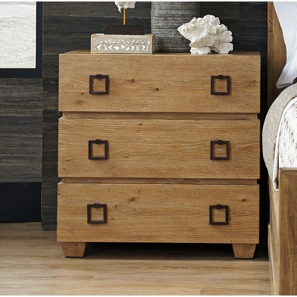Los Altos 3 Drawer Nightstand by Tommy Bahama Home