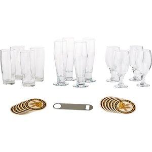 Craft Brews 25 Piece Glass Set
