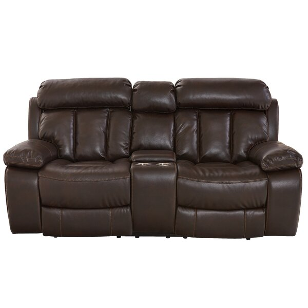 Kuester Reclining Loveseat by Alcott Hill