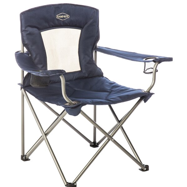 Kamp-Rite Padded Folding Camping Chair by Vargo