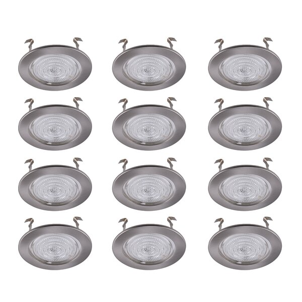 4 Shower Recessed Trim (Set of 12) by Elegant Lighting