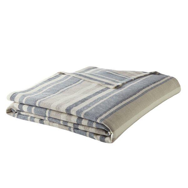 Herringbone Cotton Blanket by Eddie Bauer