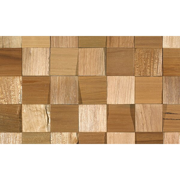 Coterie 2-3/4 Solid Oak Parquet Hardwood Flooring in Tan by IndusParquet