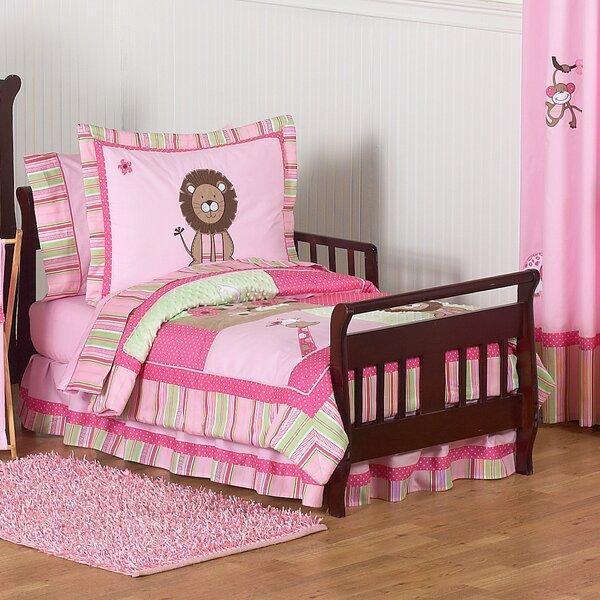 Jungle Friends 5 Piece Toddler Bedding Set by Sweet Jojo Designs