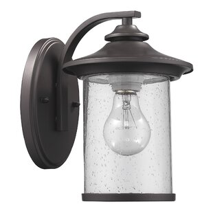 Reviews Corinth 1-Light Outdoor Sconce By Darby Home Co