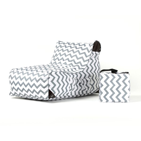 Paola Chevrons Patio Chair by Ove Decors
