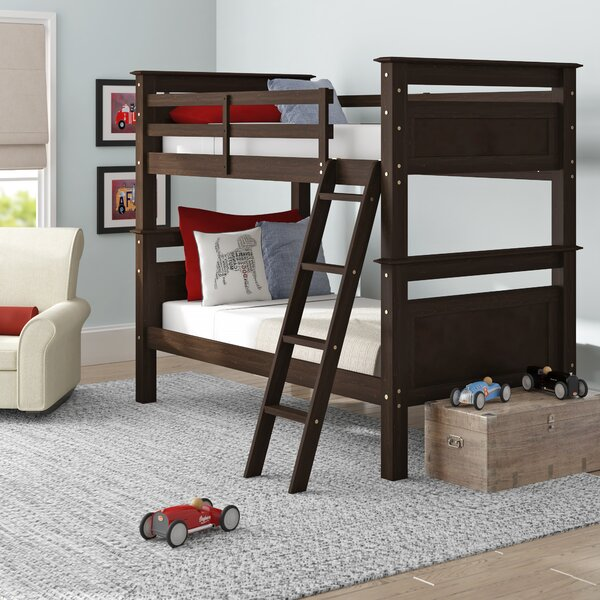 Jalyn Twin over Twin Bunk Bed by Harriet Bee