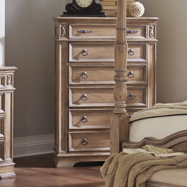 George 6 Drawer Chest by One Allium Way