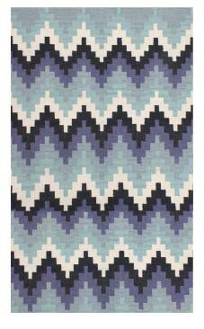 Stairs Blue Outdoor Area Rug by Jiti