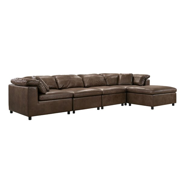 Furtado Symmetrical Modular Sectional With Ottoman By Latitude Run