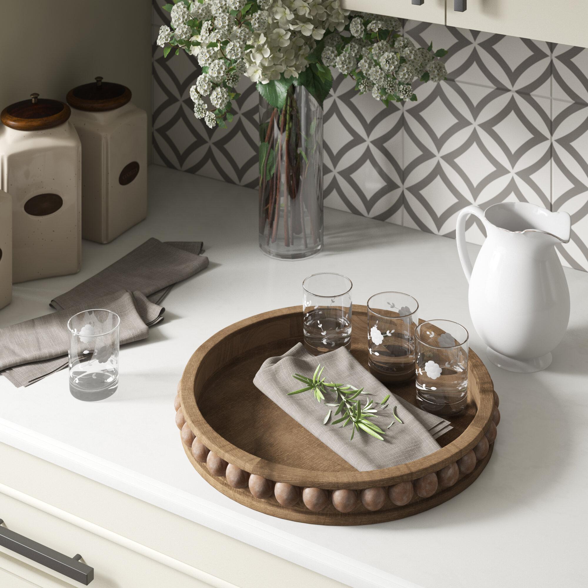 - Three Posts Crofton Round Wood Coffee Table Tray & Reviews Wayfair