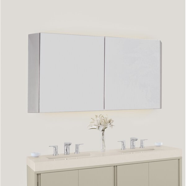 Brit 53.54 W x 27.56 H Wall Mounted Cabinet