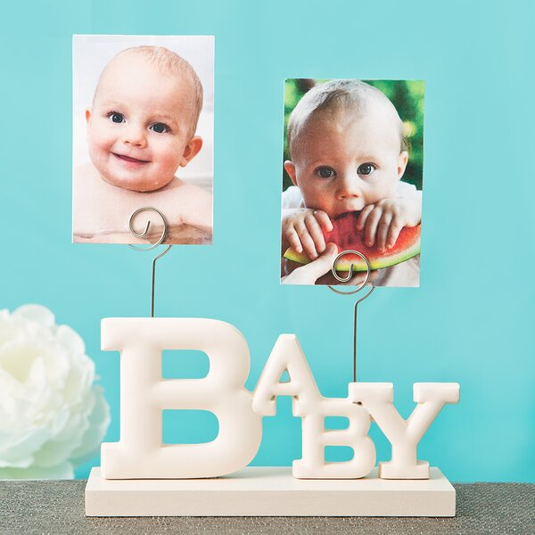 Baby Picture Frame by Fashion Craft