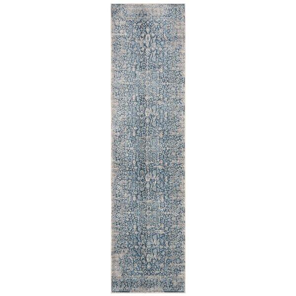 Coweta Vintage Persian Cotton Blue Area Rug by Bungalow Rose