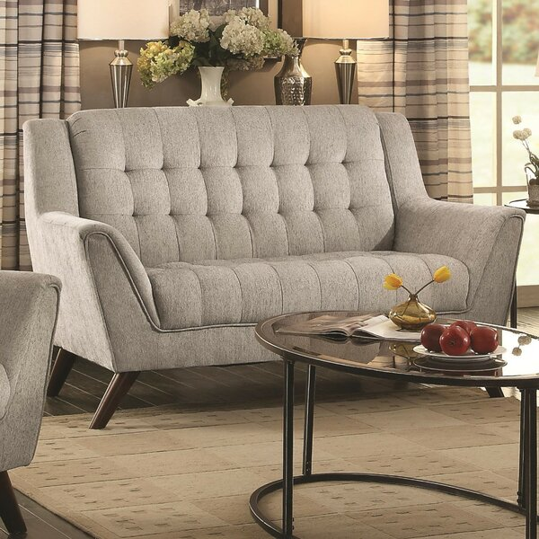 Bott Transitional Loveseat by George Oliver