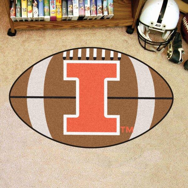 NCAA University of Illinois Football Doormat by FANMATS