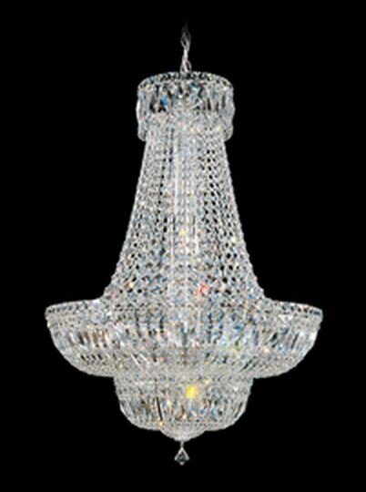 Petit Crystal Deluxe 16 - Light Unique / Statement Empire Chandelier By Schonbek