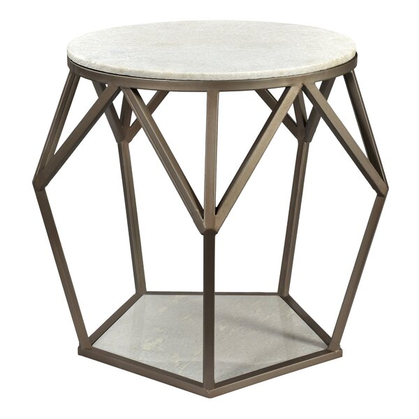 Elbert End Table by Everly Quinn Everly Quinn