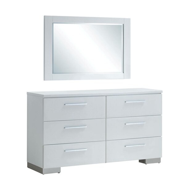 Mccullum 6 Drawer Double Dresser by Orren Ellis