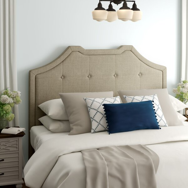 Crown King Upholstered Panel Headboard by Powell Furniture Powell Furniture