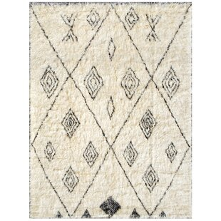 Buying Moroccan Hand-Knotted Ivory Area Rug By Pasargad