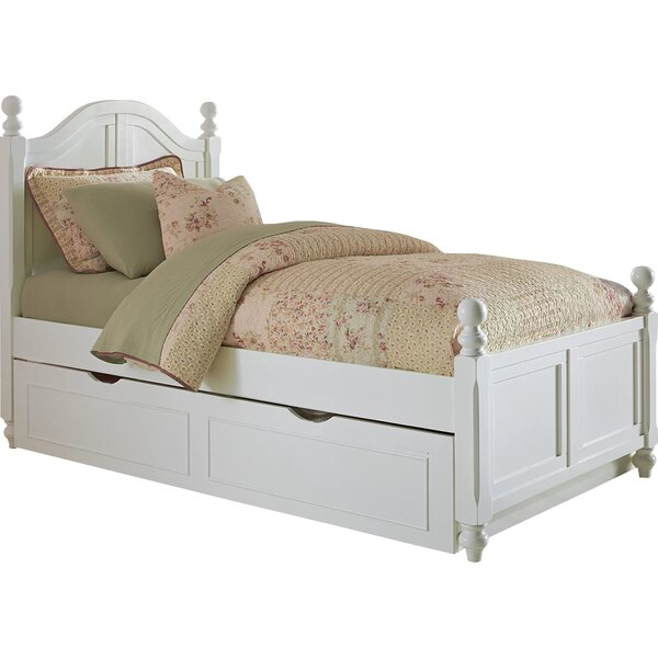 Burroughs Panel Bed with Trundle by Three Posts Baby & Kids