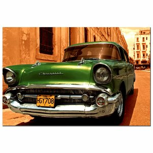 '1957 Chevy Bel Air' Photographic Print on Canvas by Trademark Fine Art