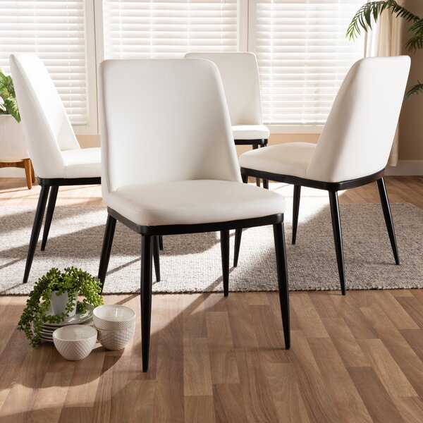 Looking for Regnier Upholstered Dining Chair (Set Of 4) By Orren Ellis Cheap