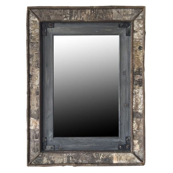 Rectangular Accent Wall Mirror by Loon Peak