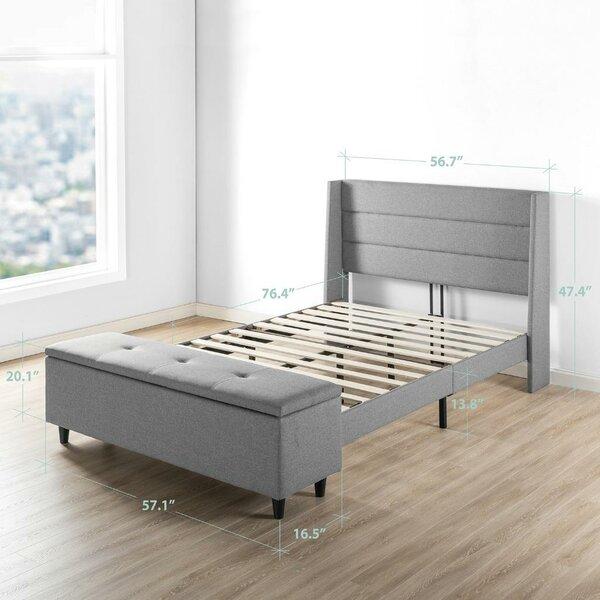 Minatare Upholstered Storage Platform Bed by Ivy Bronx