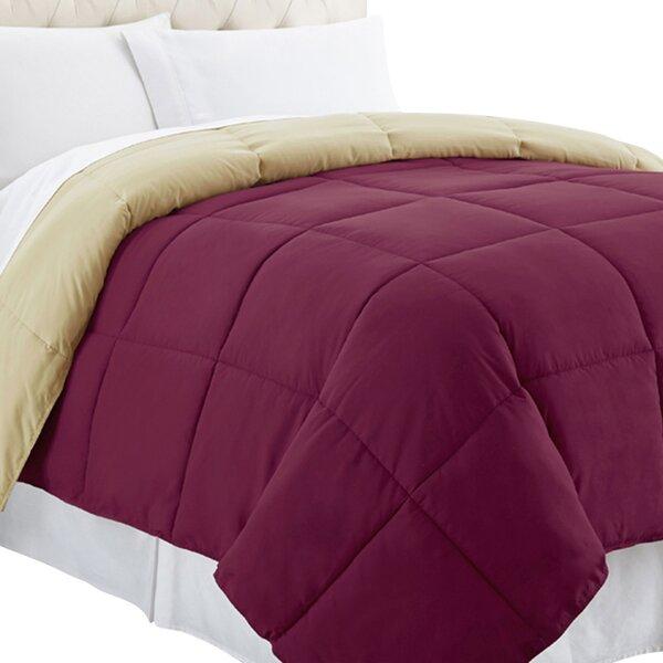 Single Reversible Comforter by Alwyn Home