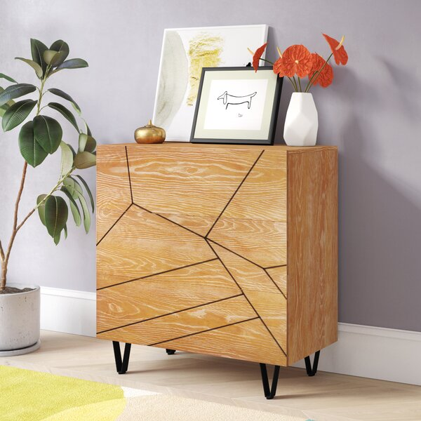 Benjamin 3 Drawer Accent Cabinet by Langley Street