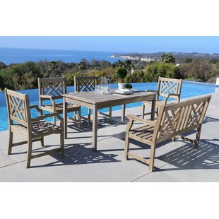 Densmore 6 Piece Dining Set By Darby Home Co