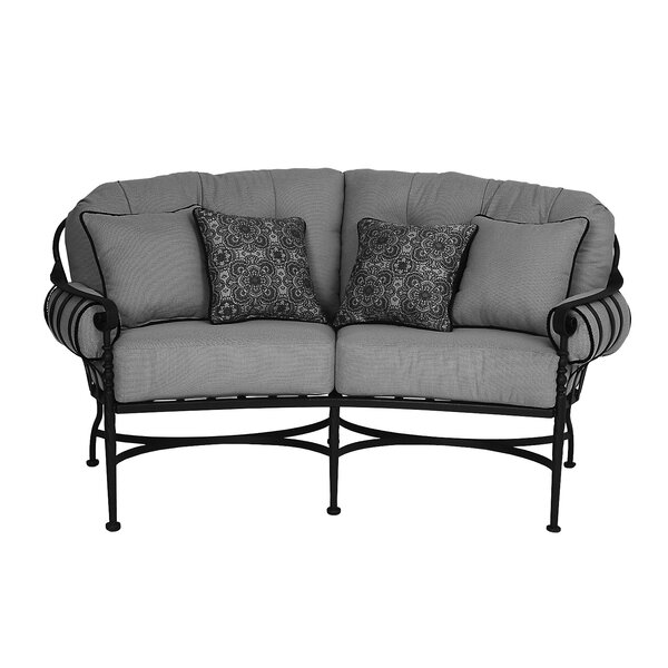 Athens Deep Seating Loveseat with Cushion by Meadowcraft