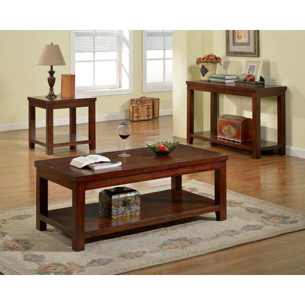 Beryl 3 Piece Coffee Table Set by Three Posts