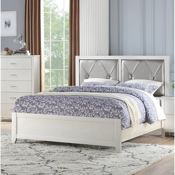 Wayman Upholstered Standard Bed by House of Hampton