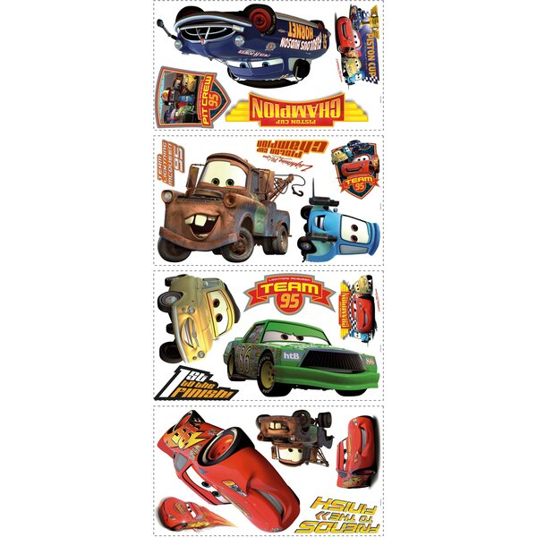 Disney Cars Piston Cup Champs Cutout Wall Decal by Wallhogs