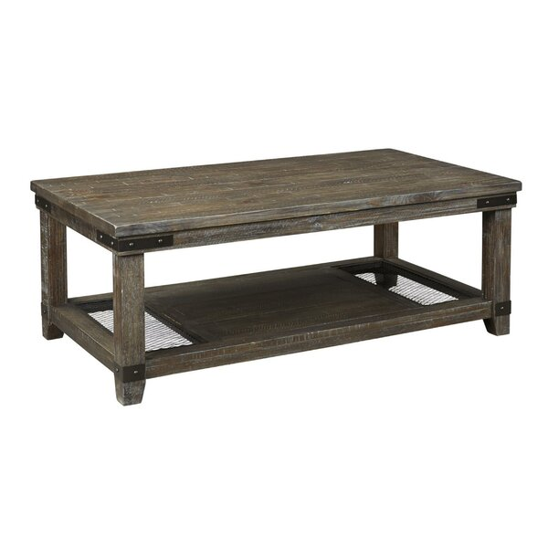 Sunnydale 4 Legs Coffee Table With Storage By Foundry Select