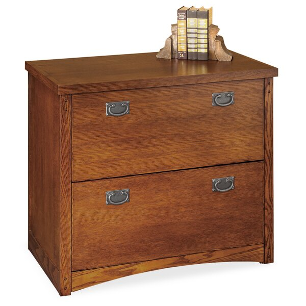 Mission Pasadena 2-Drawer Lateral File Cabinet by Martin Home Furnishings