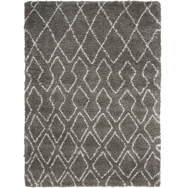 Riad Gray/Ivory Area Rug by Calvin Klein
