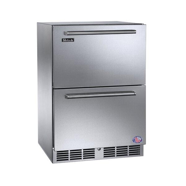 Signature Series 24-inch 5.2 cu. ft. Undercounter Refrigerator by Perlick