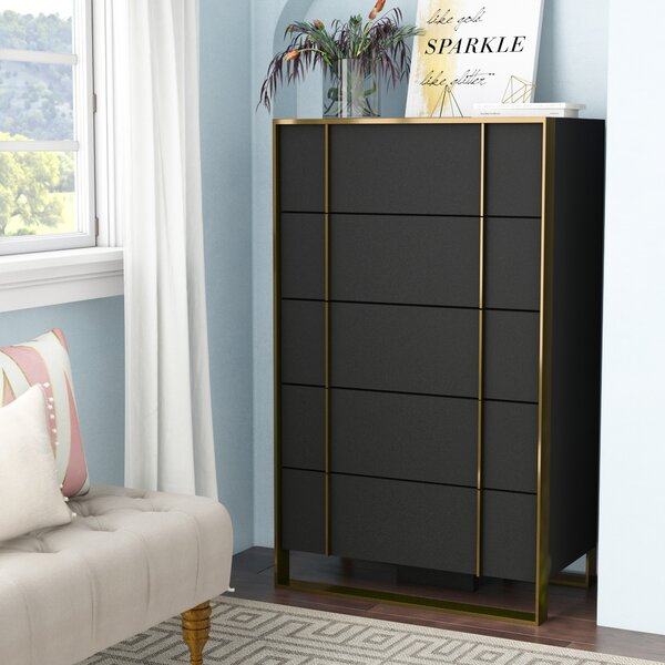 Ayaan 5 Drawer Chest by Willa Arlo Interiors