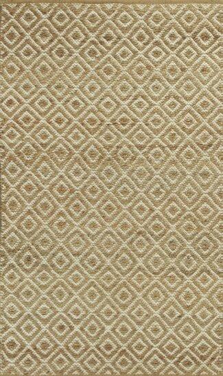 Lenore Sand Diamonds Hand-Woven Area Rug by Laurel Foundry Modern Farmhouse