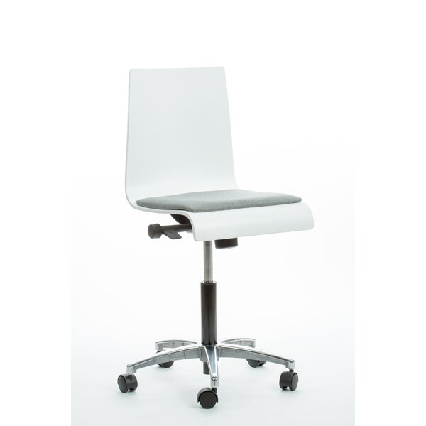 Waterfall Desk Chair by Brandt Industries