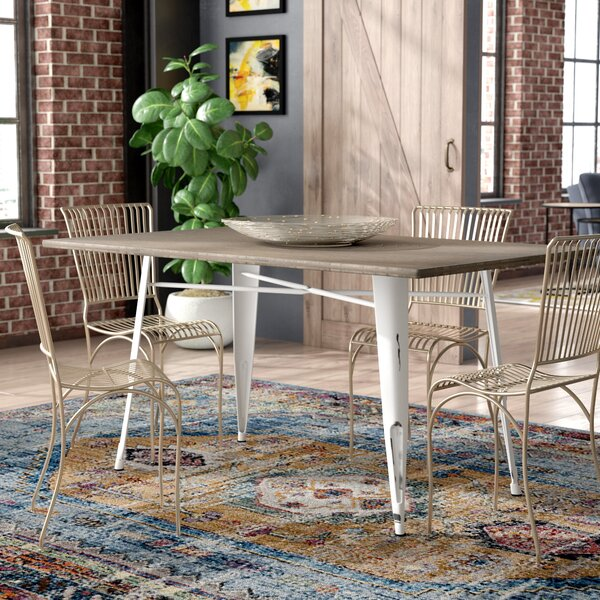 Claremont Industrial Farmhouse Dining Table by Trent Austin Design