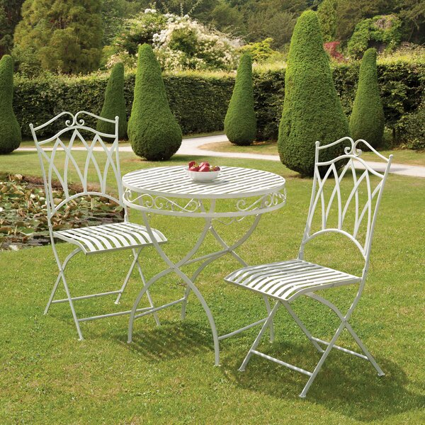 Abbas Cast Iron Bistro Set By Ophelia & Co.