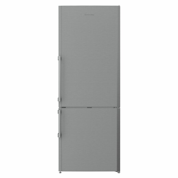 16.79 cu. ft. Energy Star Counter Depth Bottom Freezer Refrigerator with LED Lighting by Blomberg