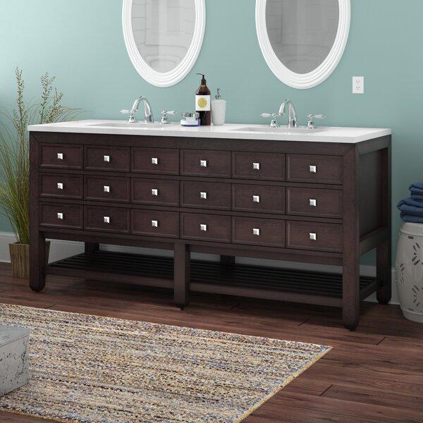 Ardin 69 Double Bathroom Vanity Set by Longshore Tides
