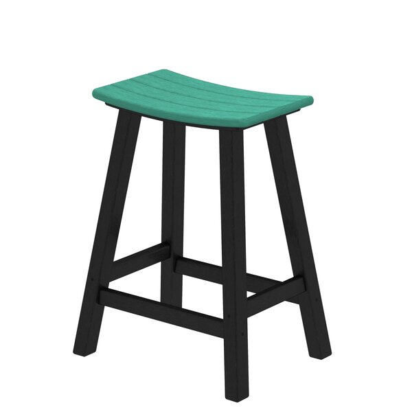 Contempo 24 Saddle Bar Stool by POLYWOOD®| @ $240.00