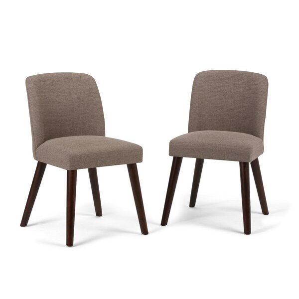 Hamer Upholstered Dining Chair (Set of 2) by George Oliver